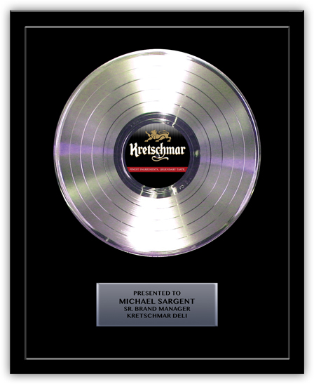 Gold Record Awards And Promotional Guitars Custom